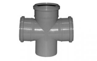 Тройники, крестовины для канализационных труб ПП