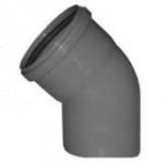 Отвод канализационный ПП 45гр 110