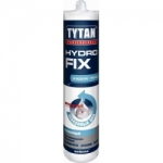 Жидкие гвозди TYTAN Hydro Fix монтажный прозрачный клей 310ml (12 шт/кор)