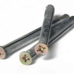 Дюбель рамный металлический для дверных и оконных рам 10x72, шт