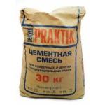 Цементная смесь для кладочных и общестроительных работ Бергауф Практик М 100 (Bergauf Praktik М 100) морозостойкая