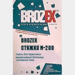 Brozex Стяжка для пола М 200. Ровнитель для пола