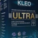 Клей KLEO для стеклообоев и флизелиновых обоев 500г