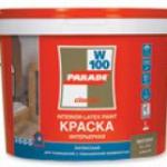 Краска воднодисперсионная латексная PARADE W100 база А Белая (5л)