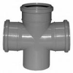 Крест канализационный ПП 110-110 прямой
