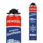 Пена монтажная Penosil (Пеносил)Premium Ganfoam зимняя 750 ml.