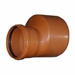 Переход наружной канализационной трубы ПВХ 250-200