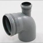 Отвод канализационный ПП 90гр 110-50 прямой