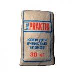 Клей для ячеистых блоков Бергауф Практик (Bergauf Praktik), 30 кг