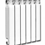 Радиатор алюминиевый ТЕПЛОВАТТ 80/500, 4 секции