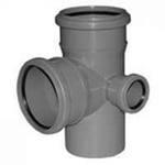 Крест канализационный ПП 2пл 110-110-50 левый