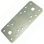 Пластина соединительная дырчатая 210х90 х2,0 мм RUS