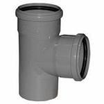 Тройник канализационный ПП   32-  32 прямой