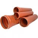 Труба канализационная наружная ПВХ 110х1000х  3.2