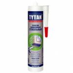 Герметик силиконовый TYTAN стекольный прозрачный 310 мл. (12шт /кор)