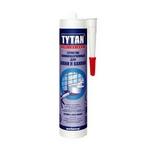 Герметик TYTAN для кухни и ванной белый 310ml (12 шт/кор)