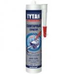Герметик силиконовый TYTAN санитарный  прозрачный 310ml (12 шт/кор)
